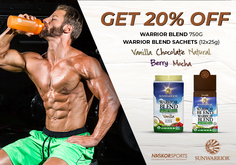 Get 20% off Sunwarrior Warrior Blend