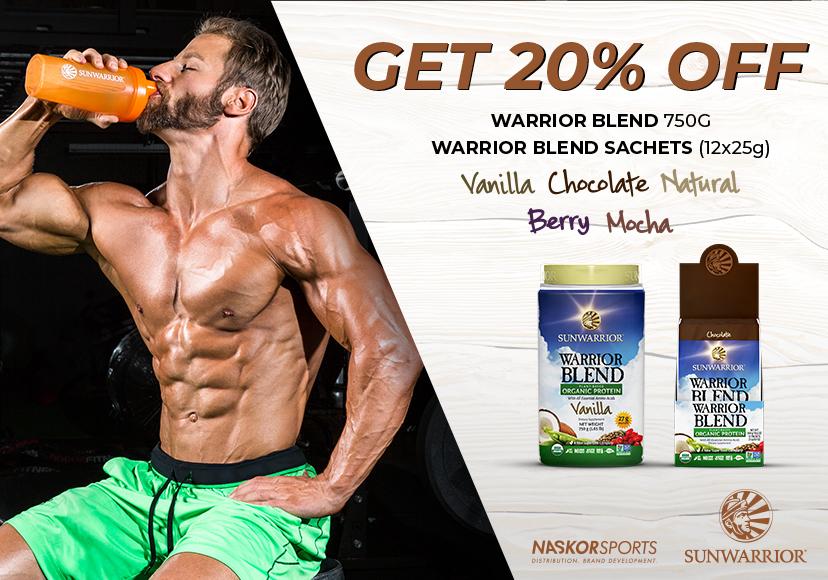 Get 20% off Sunwarrior Warrior Blend