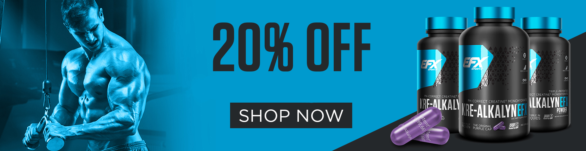 20% off Kre-Alkalyn