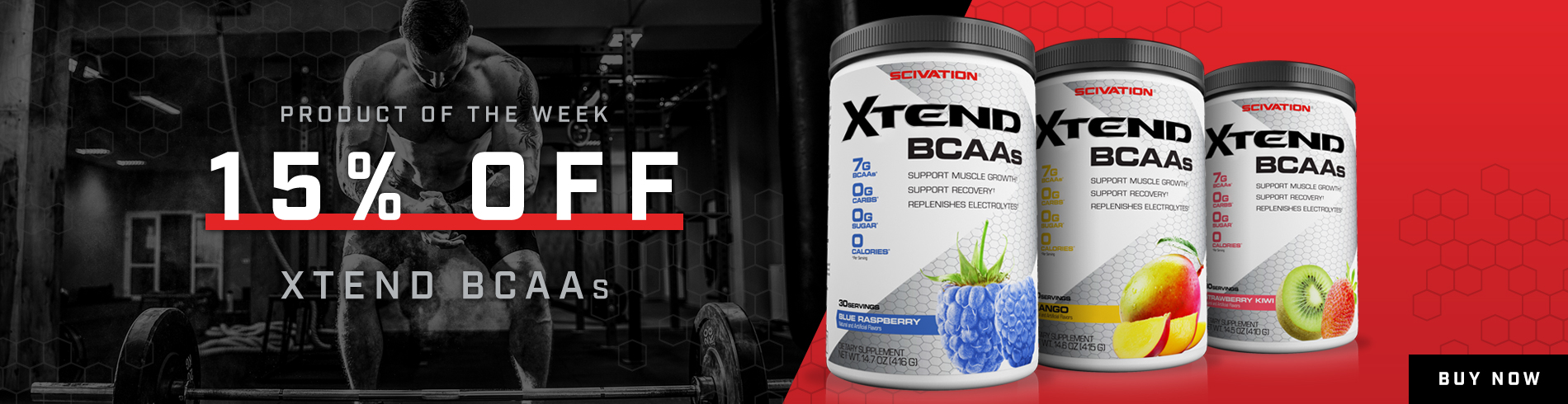 POTW 15% off Scivation