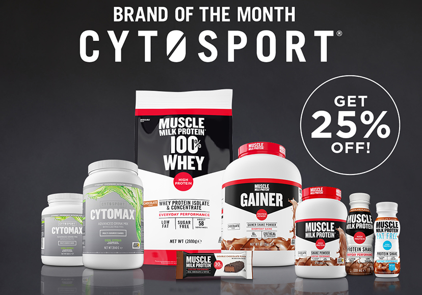 BOTM Cytosport get 25% off all.