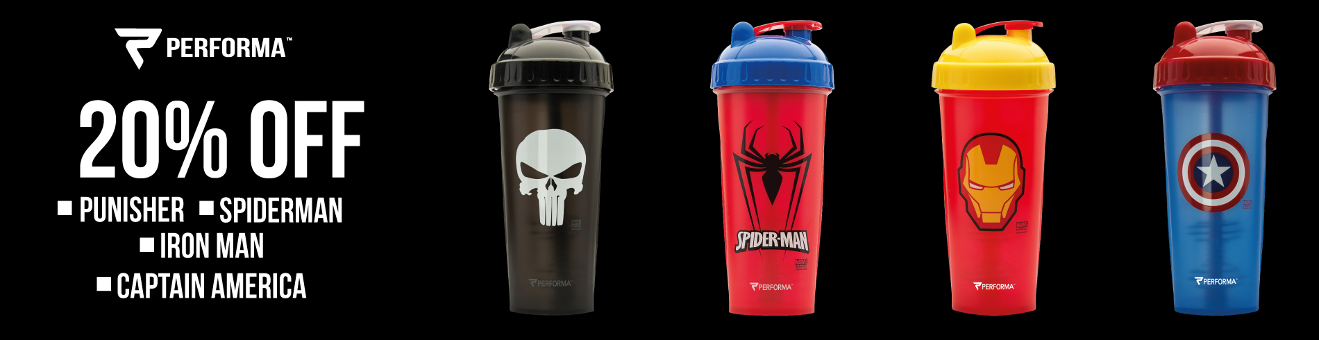 Performa Shakers Marvel