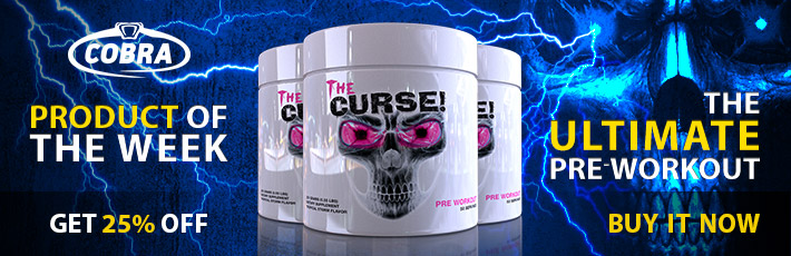 COBRA LABS THE CURSE - PRODUCT OF THE WEEK