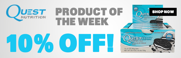 QUEST NUTRITION QUEST BARS - PRODUCT OF THE WEEK