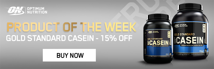 Optimum Nutrition 100% Casein Gold Standard - Product of the Wee