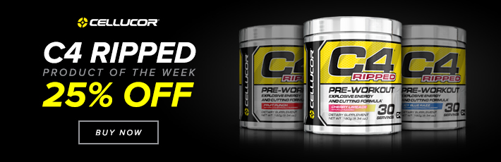 Cellucor C4 Ripped - Product of the Week