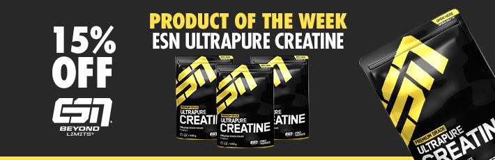 ESN Ultrapure Creatine - Product of the Week