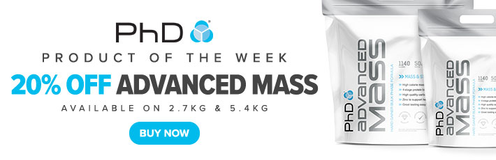 Product of the Week - 20% off PhD Advanced Mass