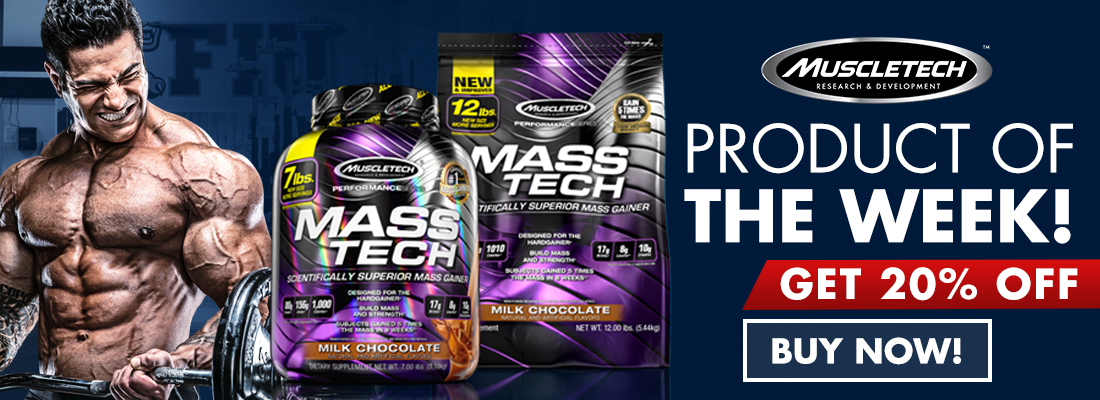 Product of the Week - 20% off Muscletech Mass-Tech