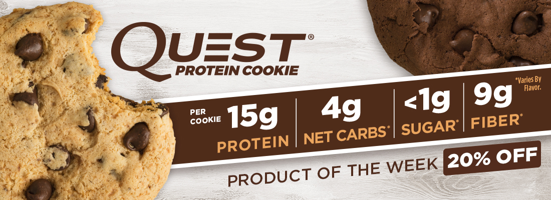 Product of the Week - 20% off Quest Protein Cookie