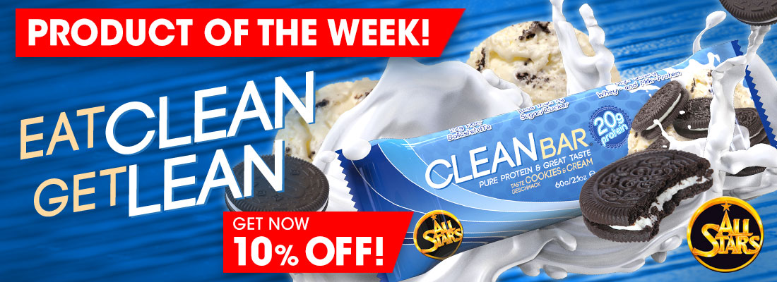 Product of the Week - 10% off All Stars Clean Bar