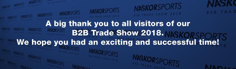 NaskorSports B2B Trade Show 2018