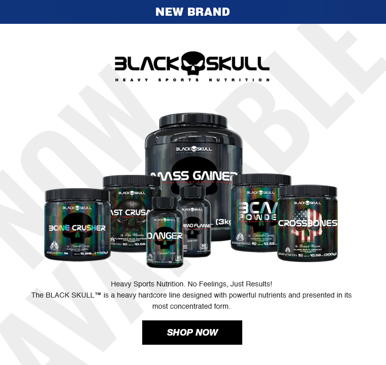 New Brand - BLACK SKULL USA