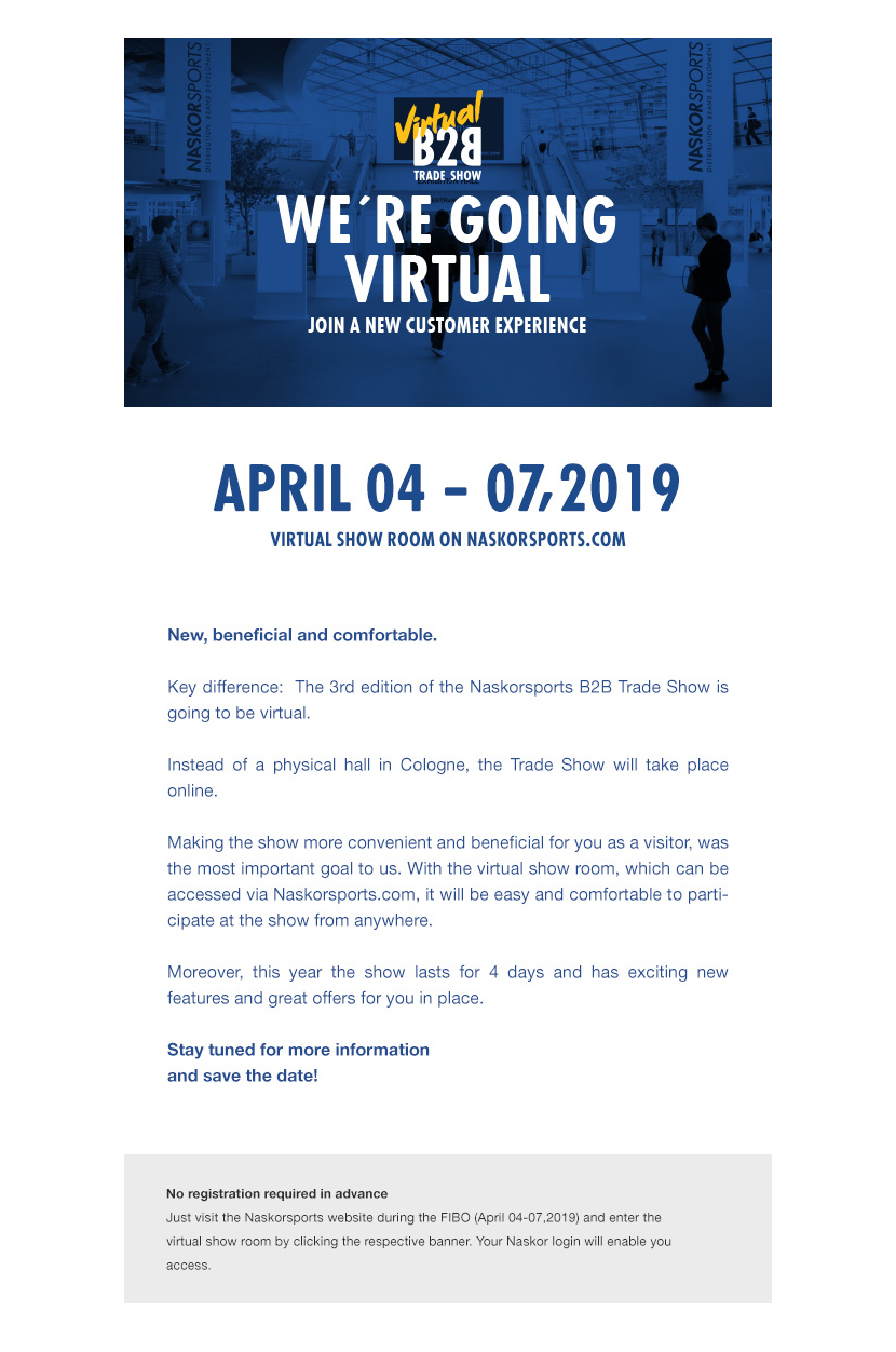 INTRODUCING THE VIRTUAL B2B TRADE SHOW
