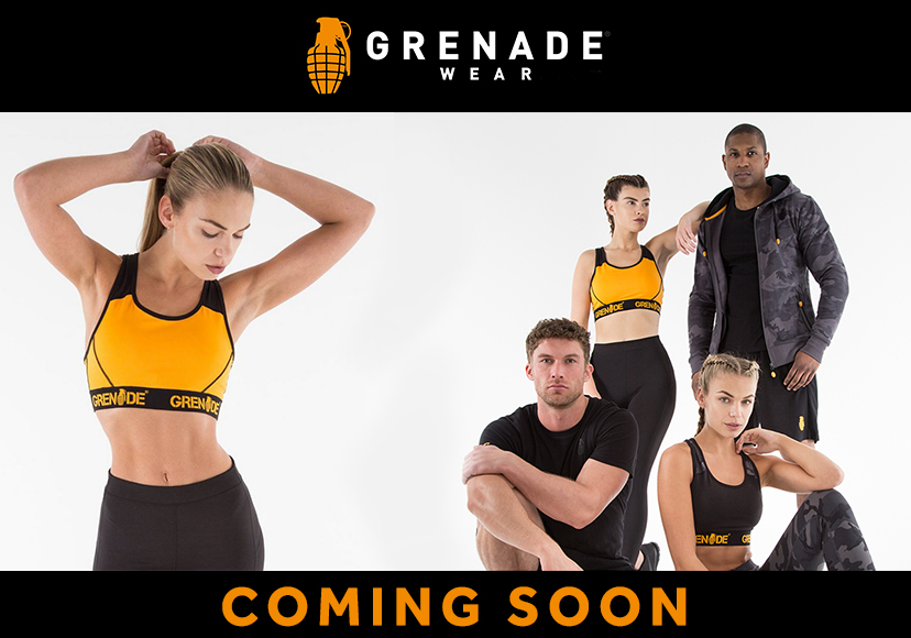 GRENADE SPORTSWEAR - COMING SOON