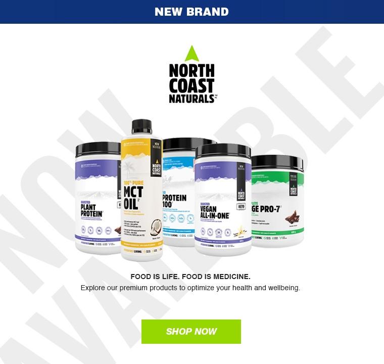New brand at NaskorSports: North Coast Naturals