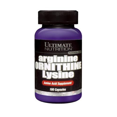 Arginine/Ornithine/Lysine (100Caps)