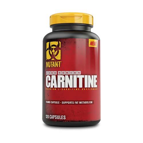 Mutant Core Series L-Carnitine (120 Caps)
