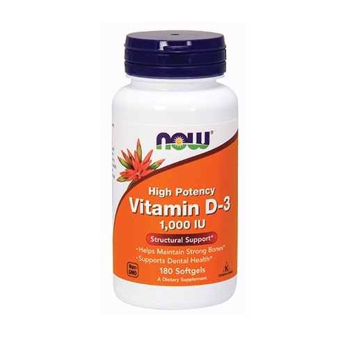 Vitamin D3 1000iu (180)