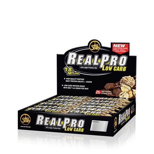 Real Pro Low Carb Bar (24x50g)