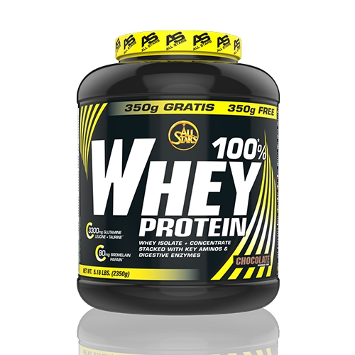 All Stars 100% Whey Protein (2350g) Strawberry