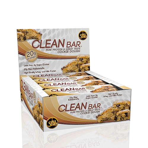 All Stars Cleanbar (12x60g) Double Chocolate Chunk