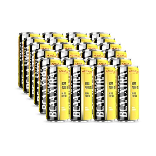 Activlab BCAA Xtra Drink + Caffeine (24x250ml) Apple