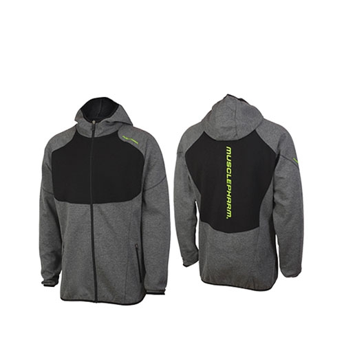 MENS F/Z HOODIE WITH CONTRAST PANELS
