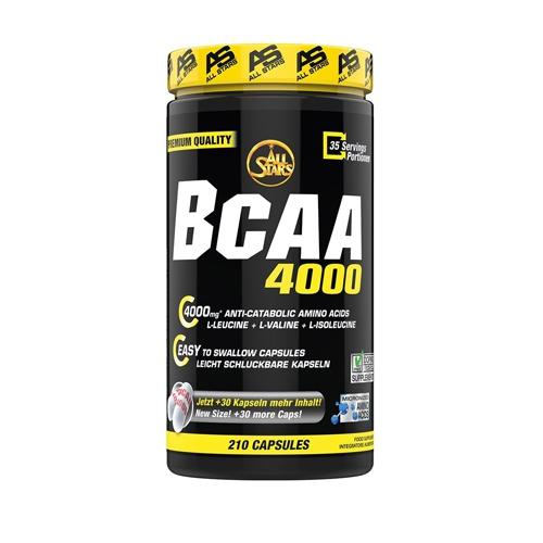 All Stars BCAA 4000 (210 caps) Standard