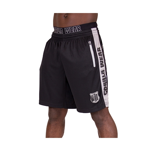 Shelby Shorts (Black/Gray)
