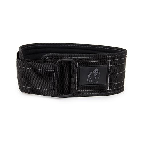 4 Inch Nylon Belt (Black Gray)