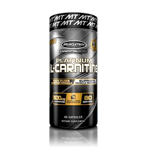 Essential Series Platinum 100% L-Carnitine (60)