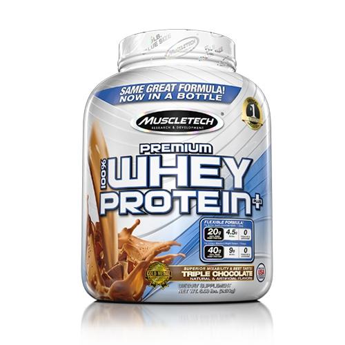 100% Premium Whey Protein Plus (5lbs)