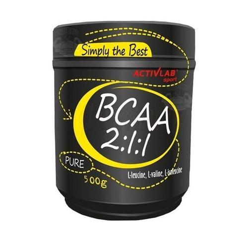 Activlab BCAA 2:1:1 Pure (500g) Natural