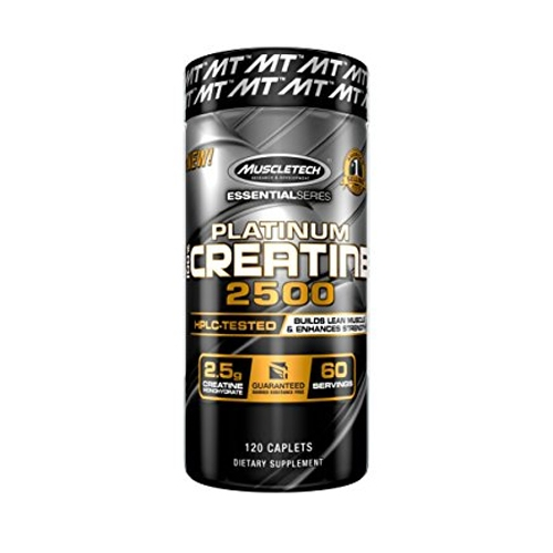 Essential Series Platinum 100% Creatine 2500 (120)