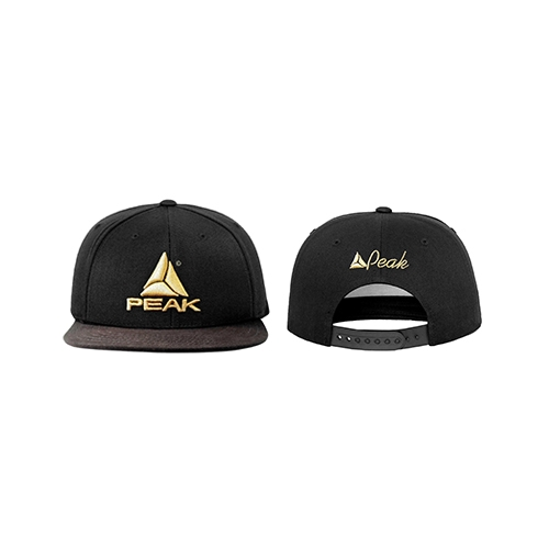 Snapback Cap (Black/Gold)