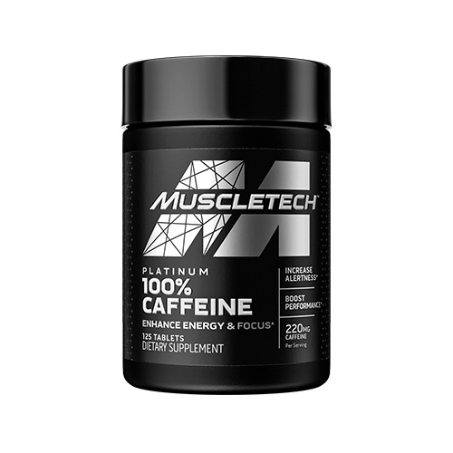 Essential Series Platinum 100% Caffeine (125 Tabs)