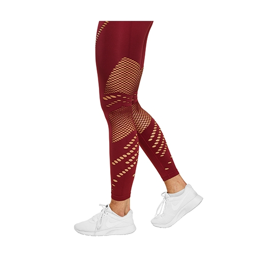 Waverly Tights (Sangria Red)