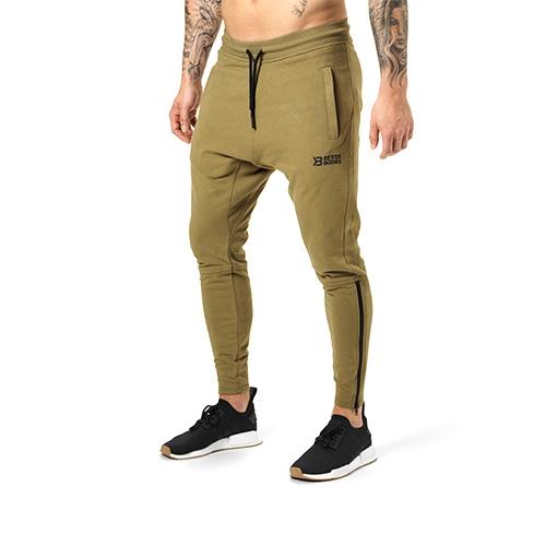 Harlem Zip Pants (Military Green)
