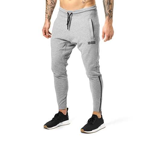 Harlem Zip Pants (Greymelange)