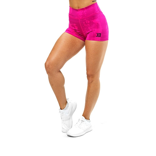 Gracie Hotpants (Pink Print)