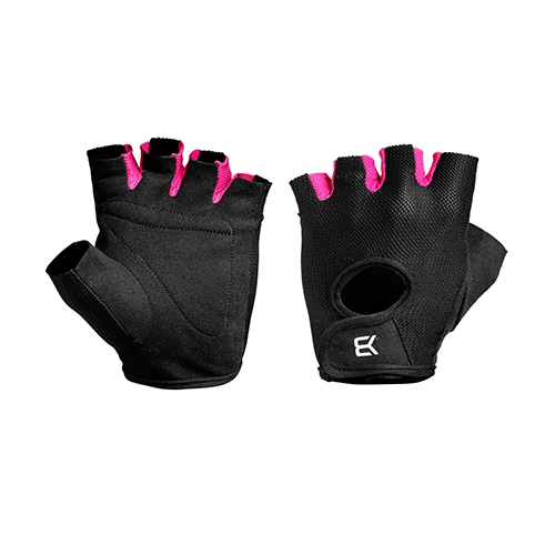 Womens train gloves (Black/Pink)