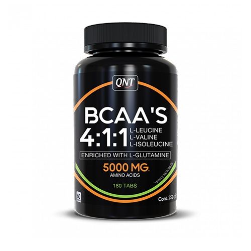 BCAA 4:1:1 + L-Glutamine (180 Tabs)
