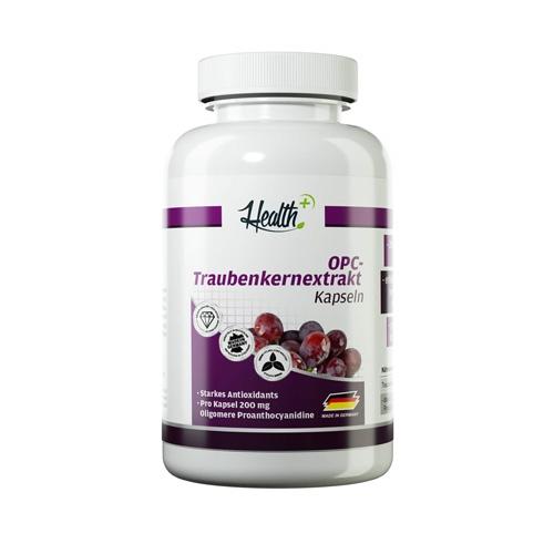 Health+ Grape Seed Extract  (120 Caps)