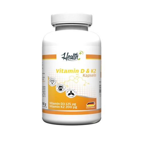 Health+ Vitamin D3+K2 (90)