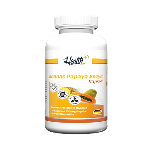 Health+ Pineapple-Papaya Enzyme (120)