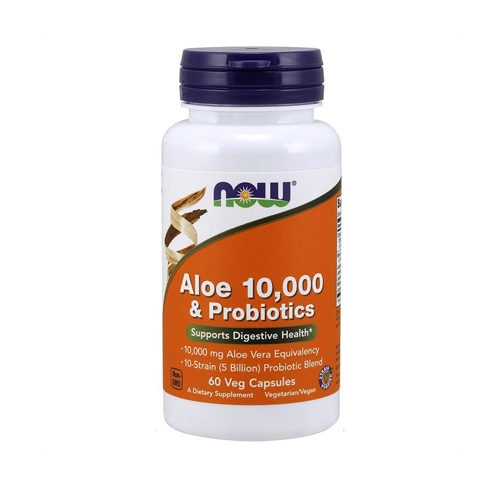 Aloe Vera 10.000 & Probiotics (60 Caps)