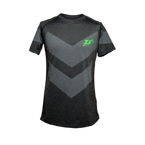 T-Shirt Rashguard Dark Black
