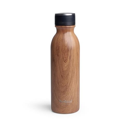 Bohtal Insulated Flask - Wood (600ml)