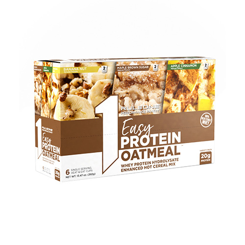 R1 Easy Protein Oatmeal Variety Pack (6 serv)
